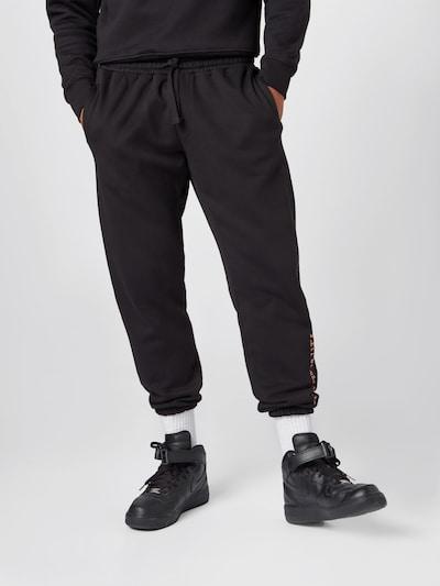 ABOUT YOU x Mero Kalhoty 'Code' - černá, Model/ka