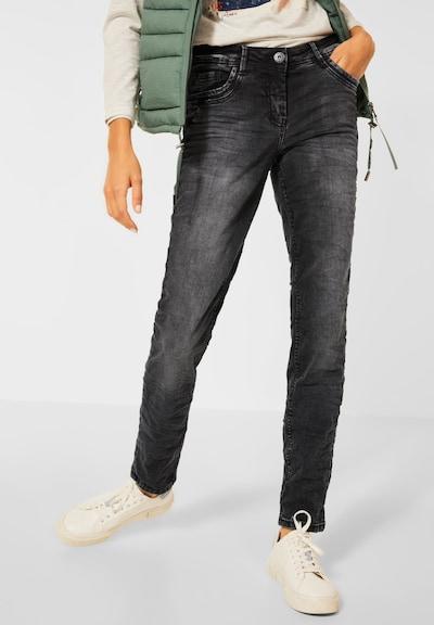 CECIL Jeans in black denim, Modelansicht