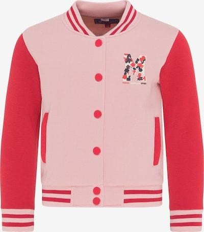 myMo KIDS Sweatvest in de kleur Rood, Productweergave