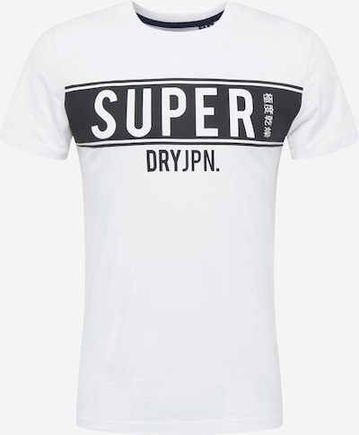 Superdry Koszulka w kolorze kremowy / czarnym, Podgląd produktu