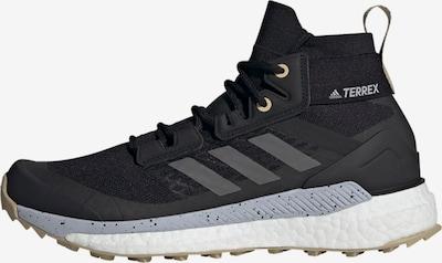 adidas Terrex Wanderschuh 'Free Hiker' in grau / dunkelgrau / schwarz / weiß, Produktansicht