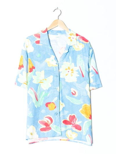 Canda Blumenbluse in XXXL in blau, Produktansicht