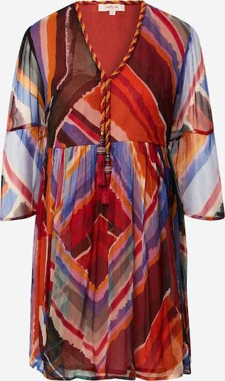 Derhy Kleid 'SARAH' in mischfarben / feuerrot, Produktansicht