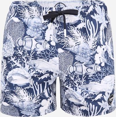 JOOP! Jeans Uimashortsit 'Matira' värissä laivastonsininen / valkoinen, Tuotenäkymä