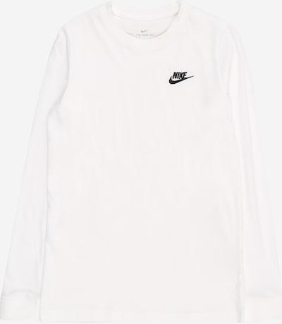 Nike Sportswear Sweat 'Futura' en noir / blanc, Vue avec produit