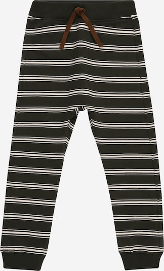 NAME IT Pantalon 'ROSS' en sapin / blanc, Vue avec produit