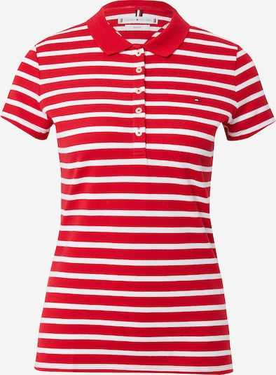 TOMMY HILFIGER Тениска в нейви синьо / червено / бяло, Преглед на продукта