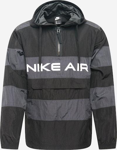 Nike Sportswear Veste mi-saison 'Air Unlined' en gris / noir, Vue avec produit