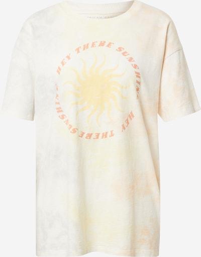 American Eagle Široka majica 'SUN' | žafran / pastelno rumena / losos barva, Prikaz izdelka