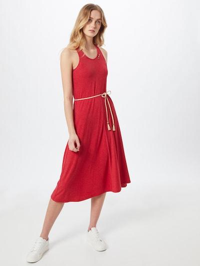 Ragwear Kleid 'MILIE' in rot, Modelansicht