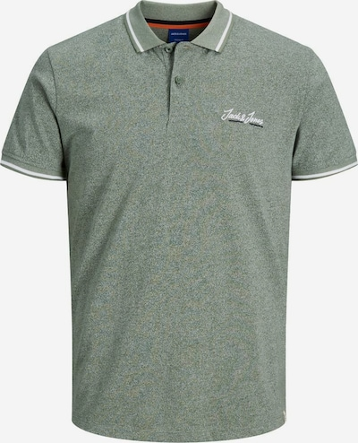 JACK & JONES T-Shirt en vert chiné, Vue avec produit