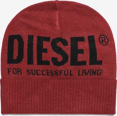DIESEL Bonnet en rouge, Vue avec produit