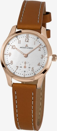Jacques Lemans Uhr in braun / gold, Produktansicht