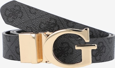 GUESS Gürtel 'Alisa' in gold / anthrazit / dunkelgrau, Produktansicht