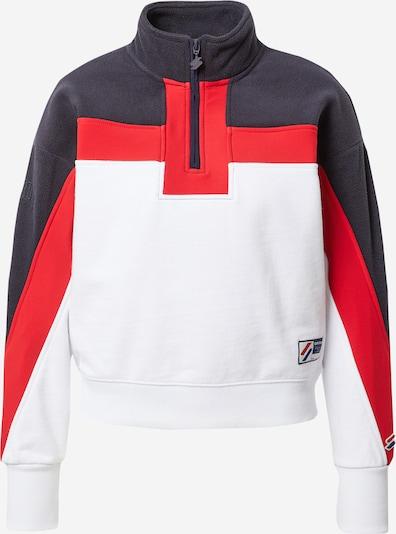 Superdry Sweatshirt in marine / dunkelblau / weiß, Produktansicht