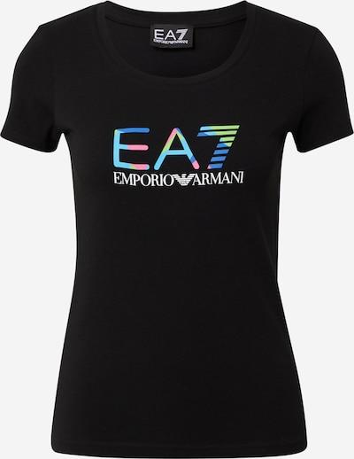 EA7 Emporio Armani T-shirt '3KTT29' en mélange de couleurs / noir, Vue avec produit