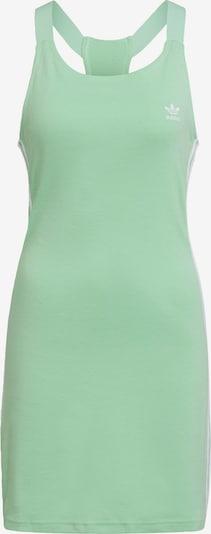 ADIDAS ORIGINALS Kleid in hellgrün / weiß, Produktansicht