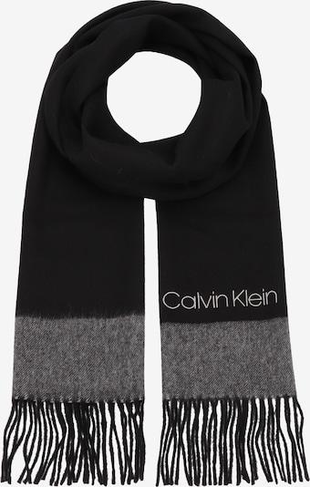 Calvin Klein Scarf in Grey / Black, Item view