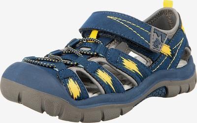 LURCHI Outdoorsandalen in taubenblau / gelb, Produktansicht
