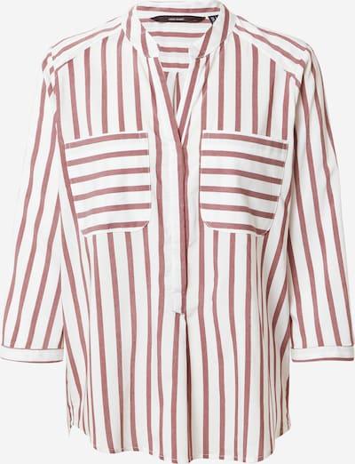 VERO MODA Bluse in rot / weiß, Produktansicht