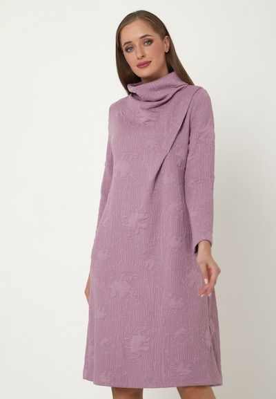 Madam-T Kleid 'LILUNA' in lila / helllila, Modelansicht