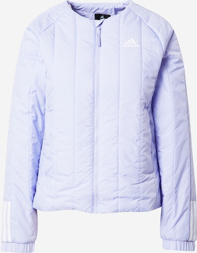 ADIDAS PERFORMANCE Sportjas in de kleur Sering / Wit, Productweergave