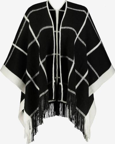 Ulla Popken Cape en noir / blanc, Vue avec produit