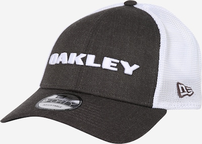 OAKLEY Sportcap 'HEATHER NEW ERA' in graphit / weiß, Produktansicht
