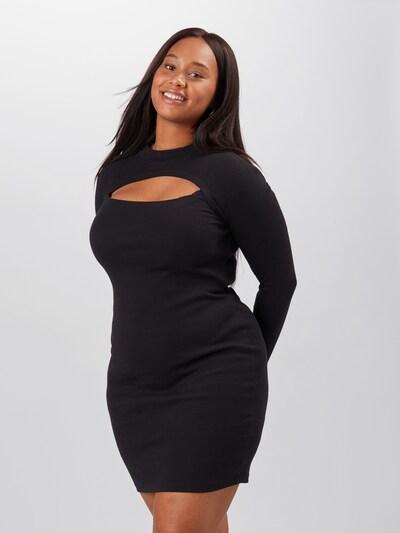 Vero Moda Curve Kleid 'Sandro' in schwarz, Modelansicht
