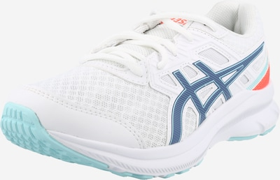 ASICS Chaussure de course en bleu / rouge orangé / blanc, Vue avec produit
