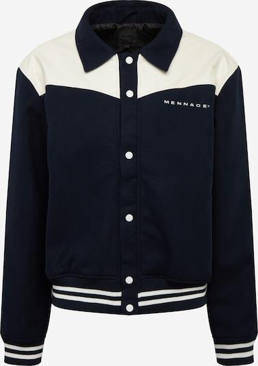 Mennace Jacke in schwarz / weiß, Produktansicht