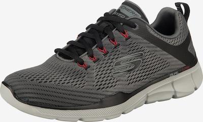 SKECHERS Sneaker 'Equalizer 3.0' in grau / dunkelgrau / feuerrot, Produktansicht