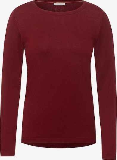 CECIL Sweater in Burgundy, Item view