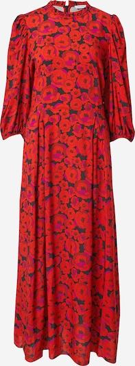 Hofmann Copenhagen Kleid 'Carly' in pink / feuerrot / schwarz, Produktansicht