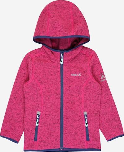 Kamik Bluza polarowa funkcyjna 'Oceania' w kolorze ciemny niebieski / różowym, Podgląd produktu