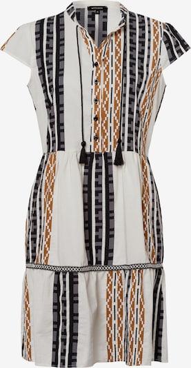 MORE & MORE Kleid in hellbraun / schwarz / weiß, Produktansicht