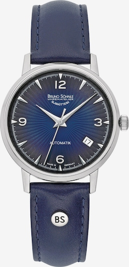 Bruno Söhnle Uhr in blau / silber, Produktansicht
