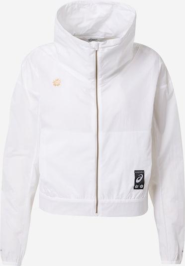 ASICS Sportjacke 'SAKURA' in weiß, Produktansicht
