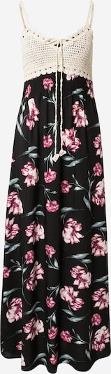 Hailys Dress 'Kaja' in Beige / Green / Pink / Black, Item view