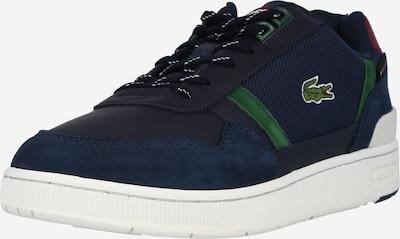 LACOSTE Baskets basses en bleu marine / vert / blanc, Vue avec produit