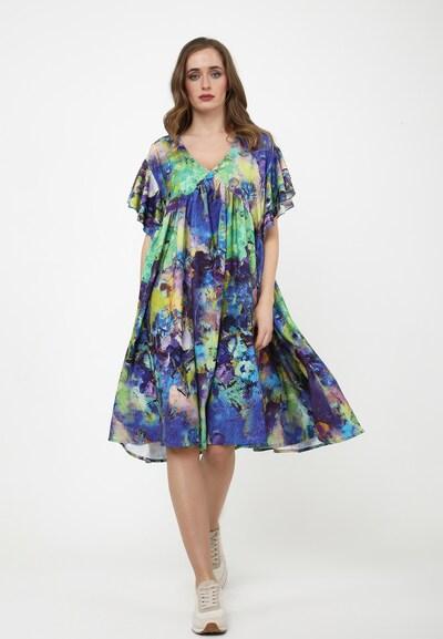 Madam-T Sommerkleid 'KURIA' in blau / lila, Modelansicht