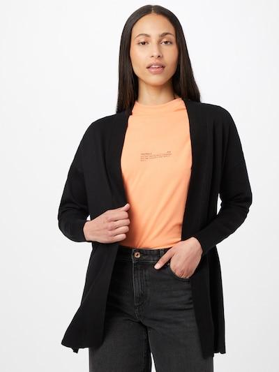 OVS Cardigan en noir, Vue avec modèle