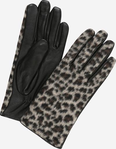 PIECES Guantes con dedos 'Eleo' en beige / marrón / negro, Vista del producto