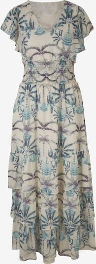 heine Kleid in creme / navy / türkis, Produktansicht