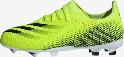 ADIDAS PERFORMANCE Fußballschuh in neongrün / schwarz, Produktansicht