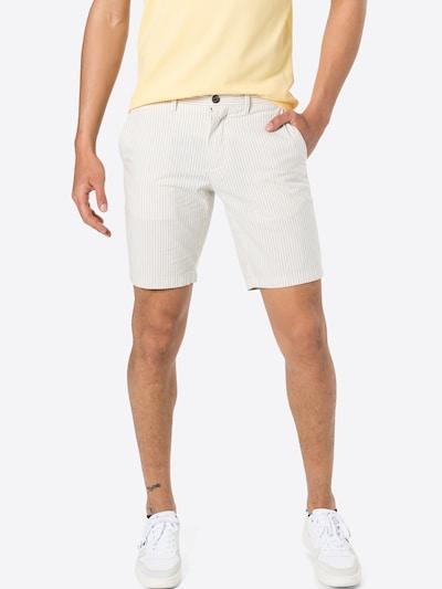 TOMMY HILFIGER Chino hlače 'BROOKLYN' u svijetlosiva / bijela, Prikaz modela
