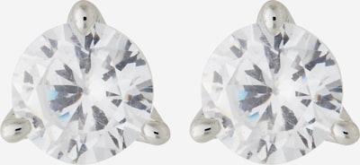 Kate Spade Boucles d'oreilles en argent / transparent, Vue avec produit