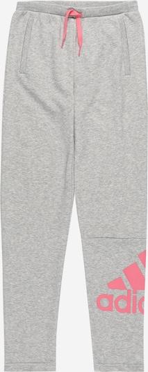 ADIDAS PERFORMANCE Sporthose in grau / pink, Produktansicht