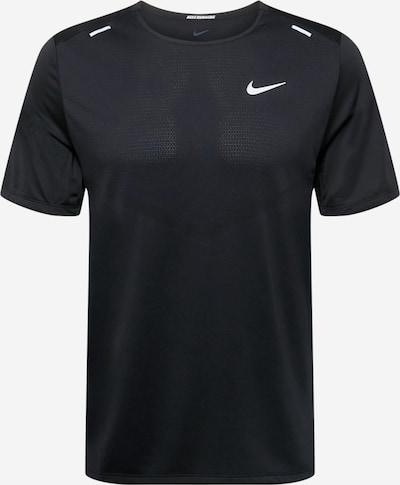 NIKE Funktionsshirt in schwarz / weiß, Produktansicht