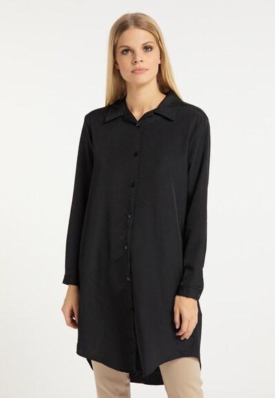 RISA Blouse in de kleur Zwart, Modelweergave